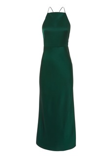 Jason Wu Green Midi Dress