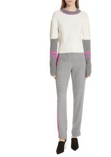GREY Jason Wu Colorblock Merino Wool Sweater