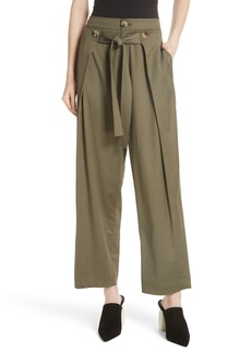 GREY Jason Wu Cotton Blend Twill Pants