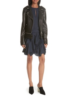 GREY Jason Wu Lambskin Leather Jacket