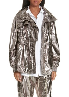 GREY Jason Wu Metallic Foil Jacket