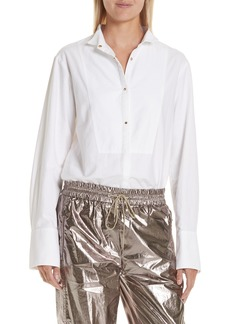 GREY Jason Wu Oxford Shirting Blouse