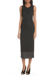GREY Jason Wu Pinstripe Wool Knit Dress