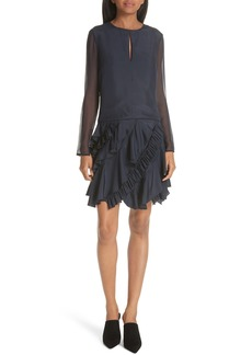 GREY Jason Wu Ruffle Silk Dress