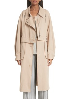 GREY Jason Wu Sailor Stretch Twill Convertible Trench Coat