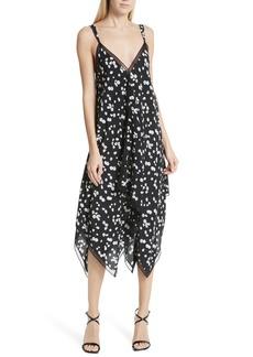 Jason Wu Spring Daisy Handkerchief Hem Dress