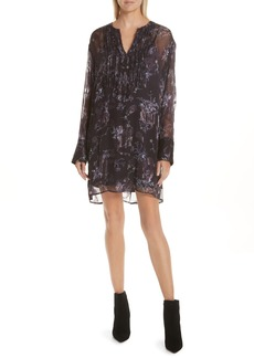 GREY Jason Wu Winter Floral Fil Coupé Dress