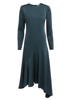 Jason Wu Handkerchief Hem Satin Dress