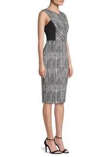 Jason Wu Herringbone Jacquard Dress