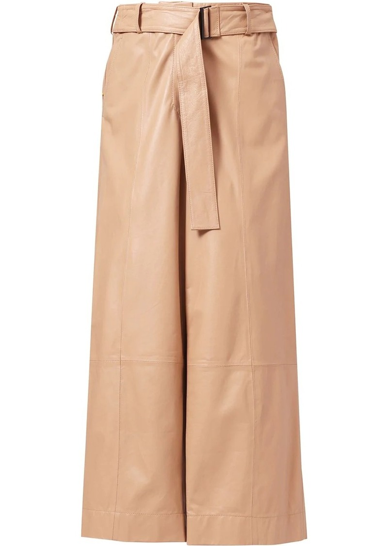 Jason Wu high-rise flared cropped trousers