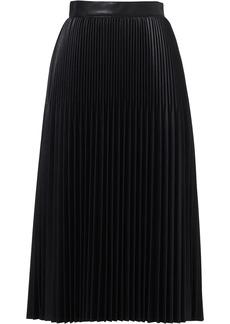 Jason Wu high-rise pleated midi skirt