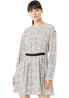 Jason Wu Inverse Floral Long Sleeve Dress