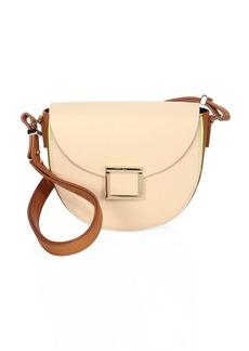 Jason Wu Jaime Colorblock Leather Saddle Bag