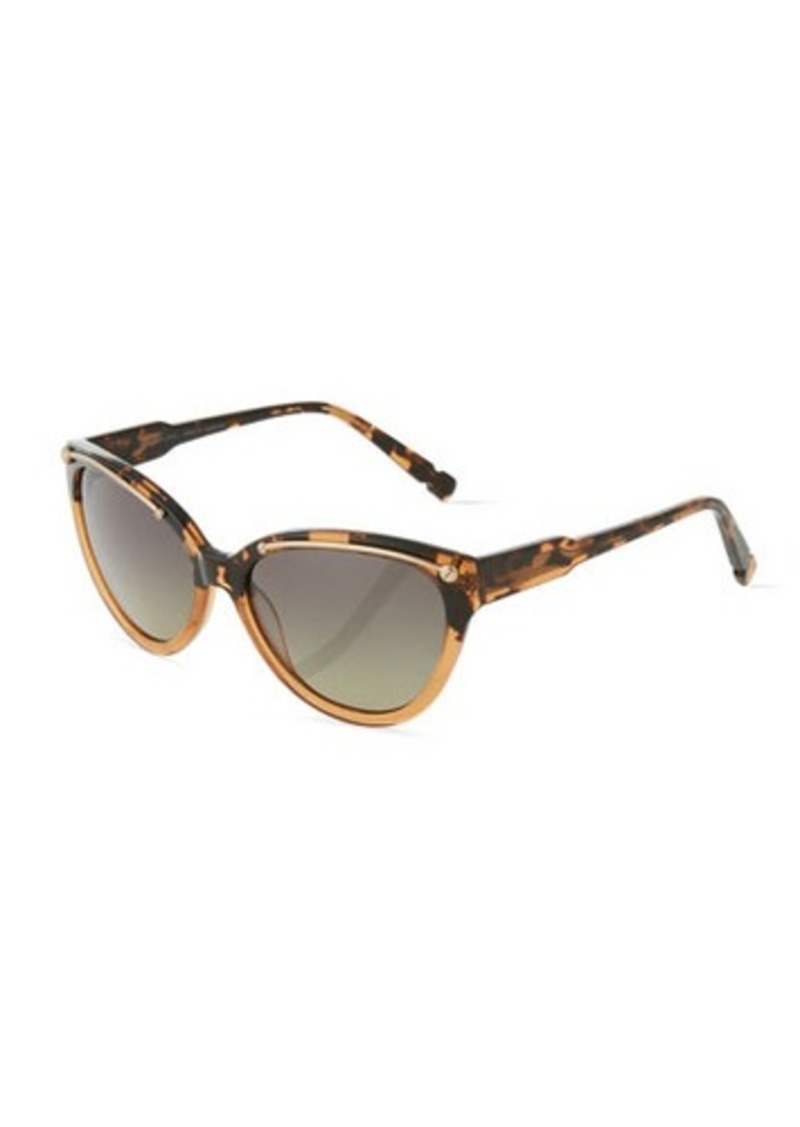 Jason Wu Anais Two-Tone Tortoise Cat-Eye Sunglasses