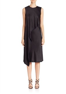 Jason Wu Asymmetrical Ruffle Dress