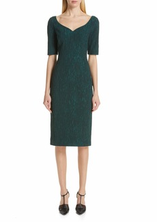 Jason Wu Cloqué Jacquard Cocktail Dress
