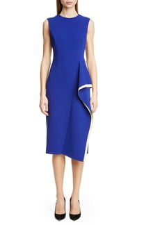 Jason Wu Collection Cascade Compact Crepe Day Dress