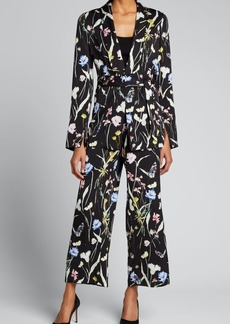 Jason Wu Collection Floral-Print Pajama Trousers