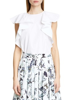 Jason Wu Collection Flutter Cotton Top