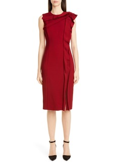 Jason Wu Collection Ruffle Sheath Dress