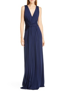 Jason Wu Collection Sleeveless Fluid Jersey Evening Gown
