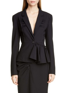 Jason Wu Collection Stretch Wool Suiting Jacket