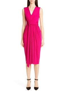 Jason Wu Collection Twist Front Jersey Evening Dress