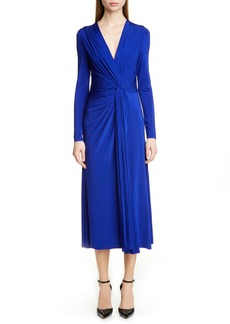 Jason Wu Collection Twist Long Sleeve Jersey Dress