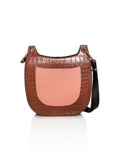 Jason Wu Color-Block Leather Saddle Bag