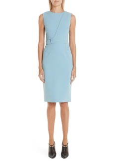 Jason Wu Double Face Compact Crepe Dress