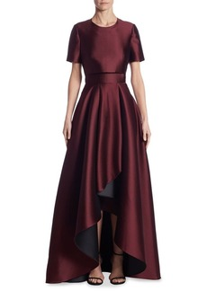 Jason Wu Double-Faced Asymmetrical Gown