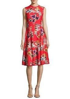 Jason Wu Floral-Print Sleeveless Dress