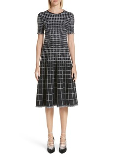 Jason Wu Graduated Check Dress