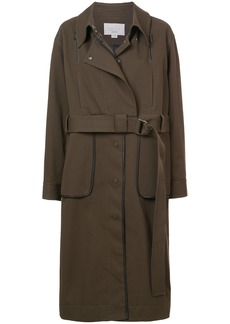 Jason Wu GREY belted trench coat - Green
