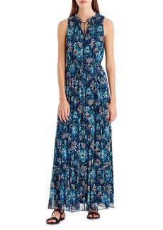 Jason Wu Floral-Print Sleeveless Maxi Dress