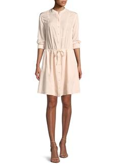 Jason Wu Long-Sleeve Shirt Dress