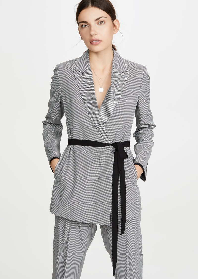 Jason Wu Grey Mini Check Suit Jacket