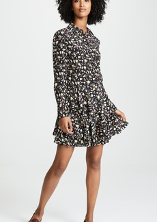 Jason Wu Grey Painterly Floral Dress