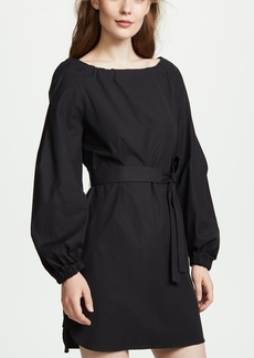 Jason Wu Grey Poplin Belted Dress