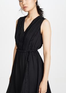 Jason Wu Silk V Neck Dress