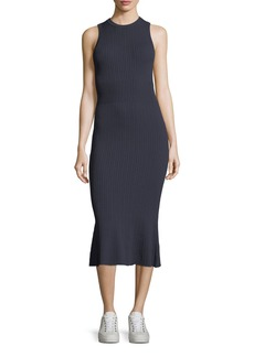 Jason Wu GREY Sleeveless Ribbed-Knit Dress