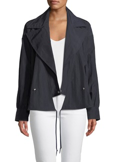 Jason Wu Techno-Taffeta Trench Jacket