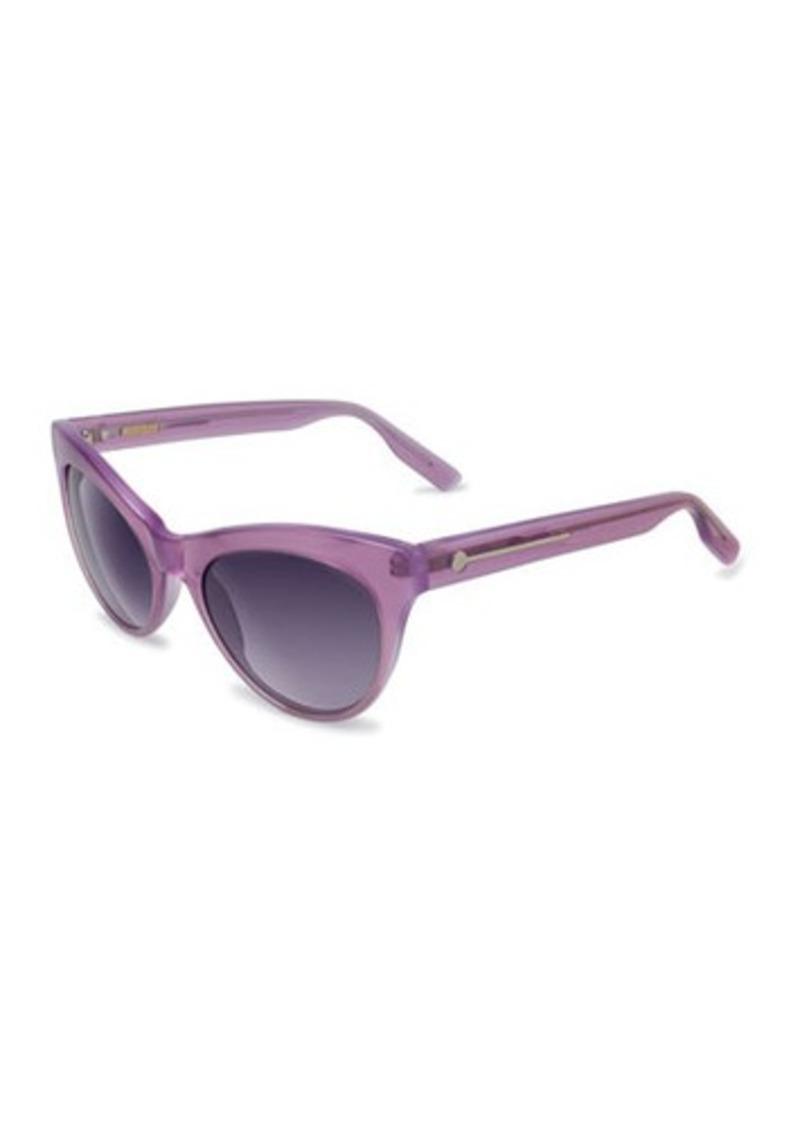 Jason Wu Jaclyn Cat-Eye Transparent Acetate Sunglasses