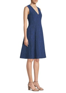 Jason Wu Jacquard Fit-And-Flare Dress