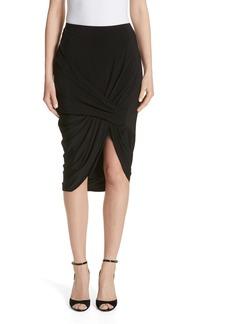 Jason Wu Jersey Asymmetrical Skirt