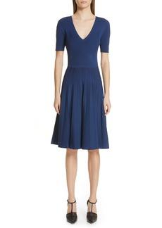 Jason Wu Collection Knit Fit & Flare Dress