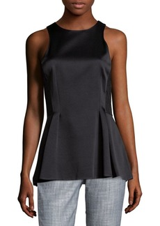 Jason Wu Lace-Back Peplum Top