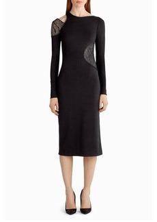 Jason Wu Lace-Inset Cutout Sheath Dress