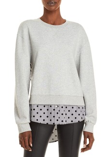 Jason Wu Layered Look Sweatshirt