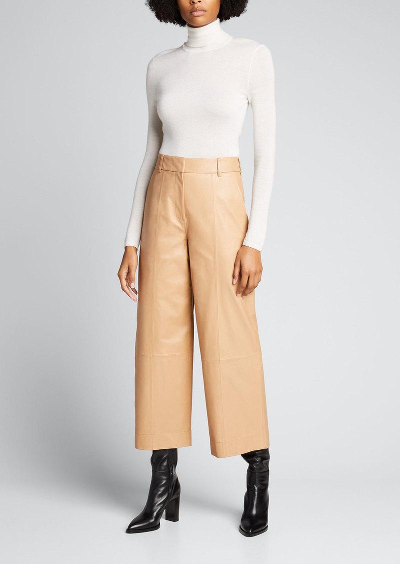 Jason Wu Leather Culottes